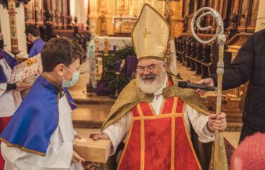 Odwiedziny św.Mikołaja
